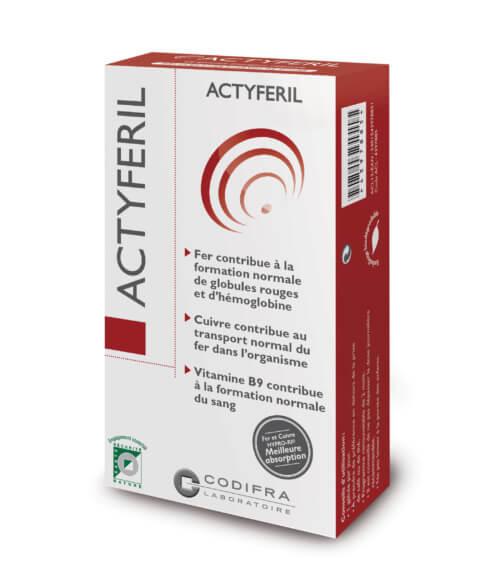Actyferil - Complément alimentaire apport en fer