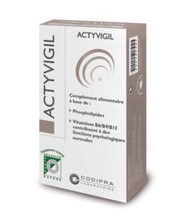 Actyvigil - Complément alimentaire fonctions psychologiques et système nerveux