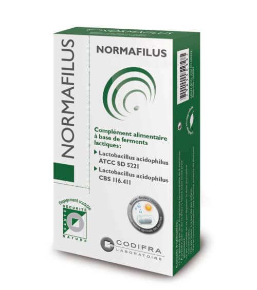Normafilus - Complément alimentaire ferments lactiques