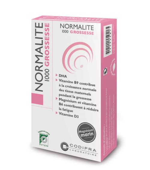 Normalite 1000 grossesse - Complément alimentaire grossesse et allaitement