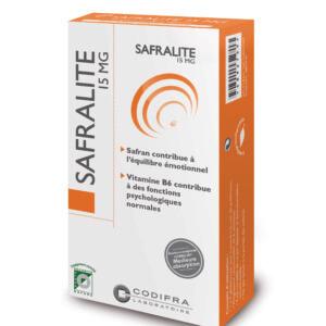 Safralite - Complément alimentaire humeur et équilibre émotionnel