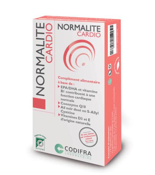 Normalite cardio - Complément alimentaire fonction cardiaque