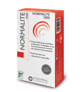 Normalite 1000 - Complément alimentaire fatigue et immunité